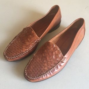 Cole Haan Woven Leather Shoes